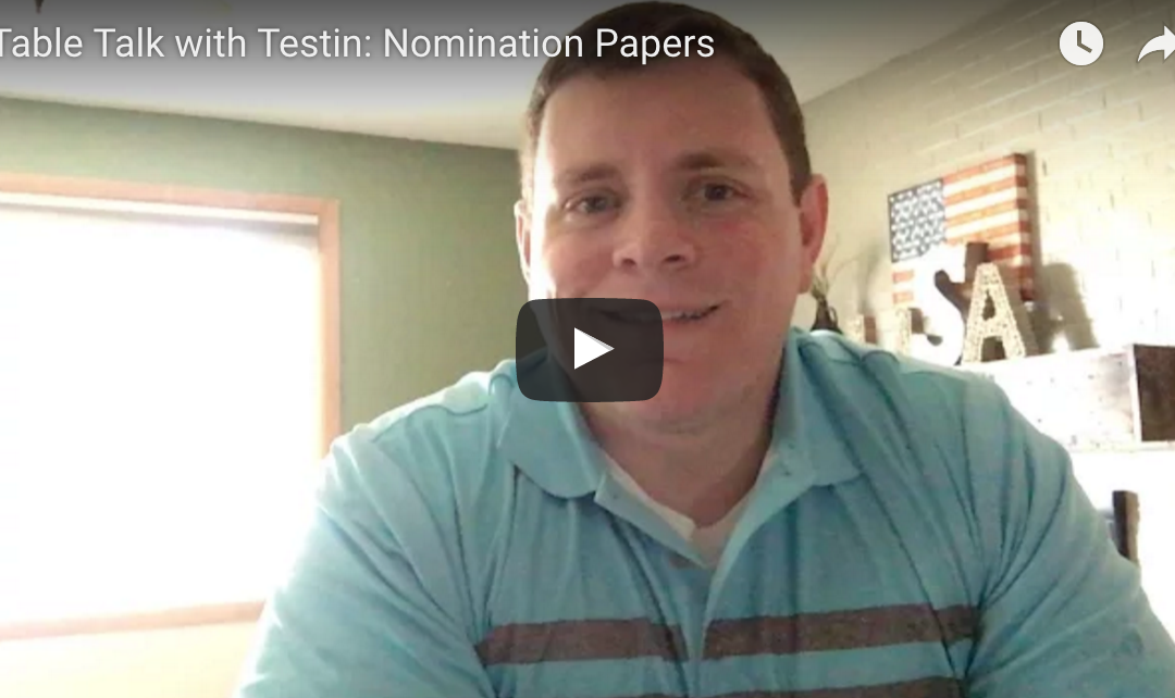 Table Talk with Testin: Nomination Papers